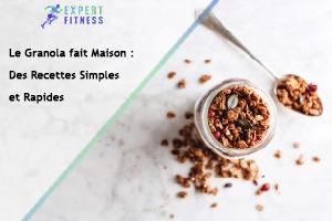 recette facile granola maison