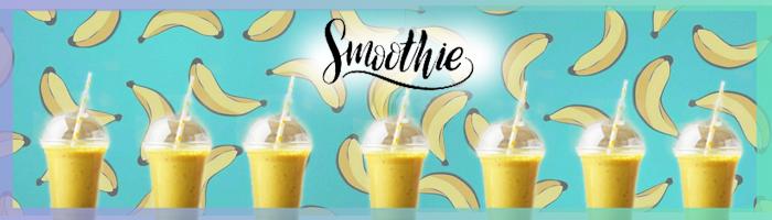 smoothie banane frais