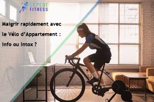 magrir avec le vélo d'appartement
