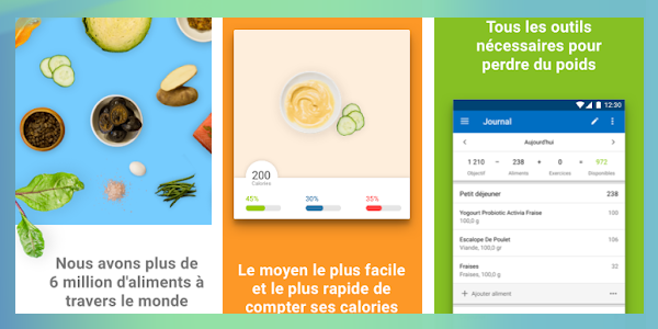 application myfitnesspal pour contrôler les calories