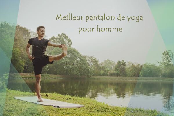 top pantalon de yoga pour homme