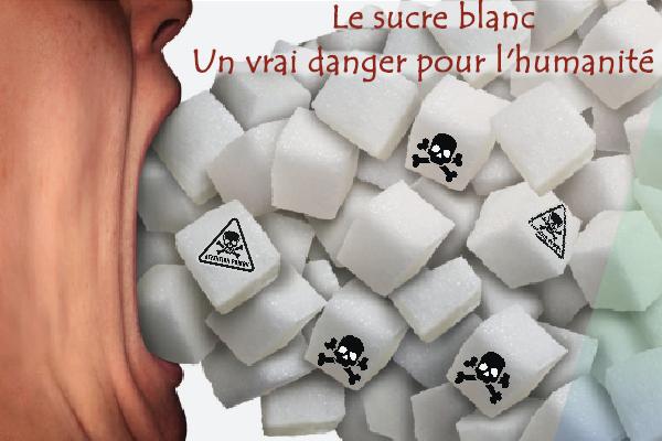 les dangers du sucre blanc sur la santé