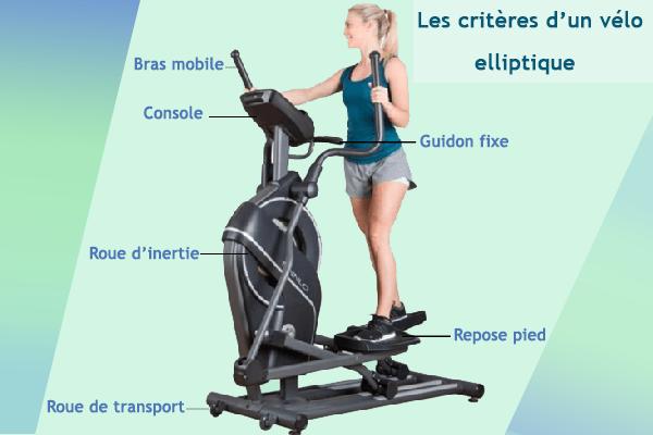 critères du vélo elliptique