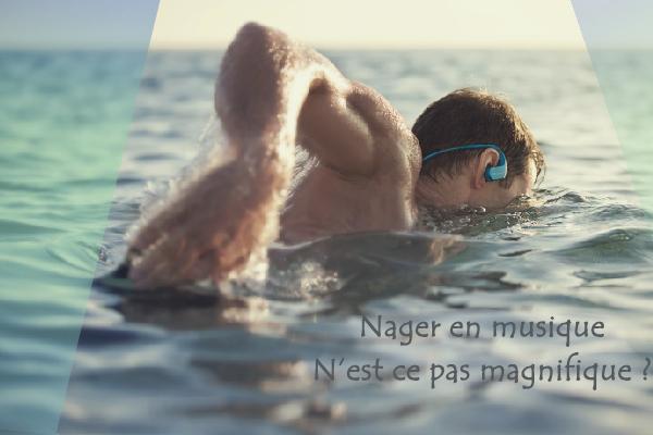 écouteur étanche pour natation