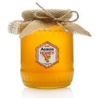 miel d'acacia brut et pur
