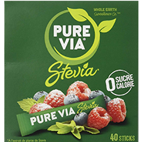 stevia boite sucre non calorique