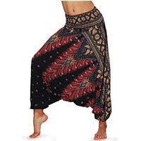dilake pantalon de yoga Boho