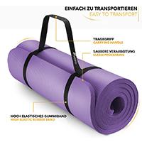 TRESKO tapis d'exercice yoga