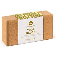 yoga block brique yoga Lotuscrafts