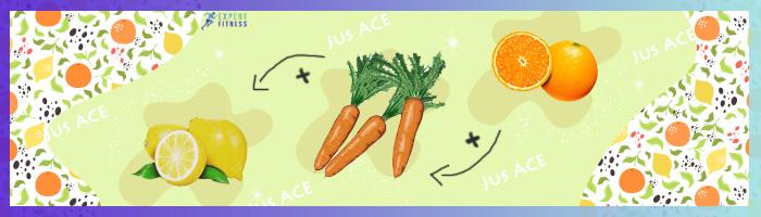 jus ace carotte citron orange