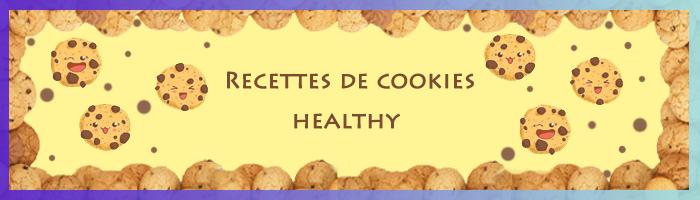 recettes de cookies healthy