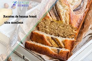 Recettes de Banana Bread Ultra Moelleux et Healthy