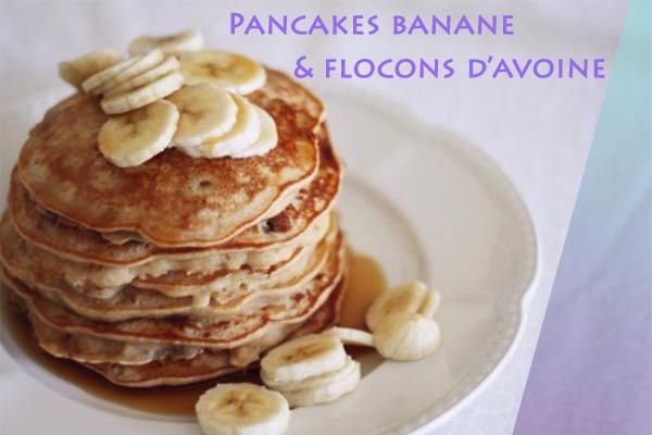 pancakes avoine banane healthy
